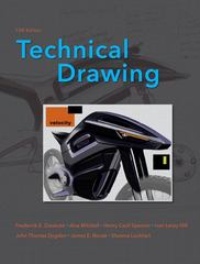 Technical Drawing 13th Edition 9780135135273 0135135273