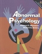Abnormal Psychology 3rd edition 9780130871374 0130871370