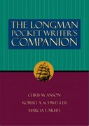 The Longman Pocket Writer's Companion 0 9780321083913 0321083911
