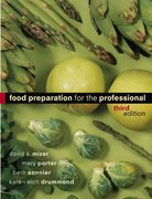Food Preparation for the Professional 3rd edition 9780471251873 0471251879