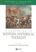 A Companion to Western Historical Thought 1st edition 9781405149617 1405149612
