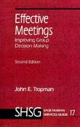 Effective Meetings 2nd edition 9780761900214 0761900217