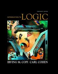 Introduction to Logic 13th Edition 9780136141396 0136141390