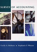 Survey of Accounting 1st edition 9780471229933 0471229938
