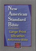 Ultrathin Reference Bible Large Print-NASB 0 9781581351354 1581351356