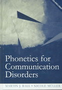 Phonetics for Communication Disorders 1st Edition 9781317777953 1317777956