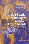 Geo-Spatial Technologies in Urban Environments 2nd edition 9783540694168 3540694161