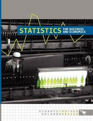 Statistics for Business and Economics 0 9781609277314 1609277317