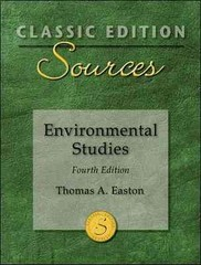 Classic Edition Sources: Environmental Studies 4th edition 9780073527642 0073527645