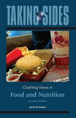 Taking Sides: Clashing Views in Food and Nutrition 2nd edition 9780073514475 0073514470