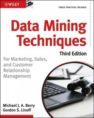 Data Mining Techniques 3rd Edition 9780470650936 0470650931