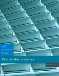 Student Solutions Manual for Finite Mathematics 9th edition 9780321447180 0321447182