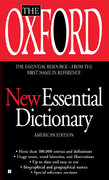 The Oxford New Essential Dictionary 1st Edition 9780425222416 0425222411