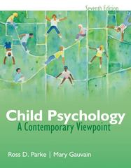 Child Psychology 7th Edition 9780073382685 007338268X