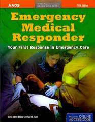 Emergency Medical Responder 5th Edition 9781449612672 1449612679
