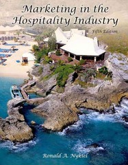 Marketing In The Hospitality Industry 5th Edition 9780866123556 0866123555