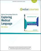 Medical Terminology Online for Exploring Medical Language (User Guide and Access Code) 8th edition 9780323077101 0323077102