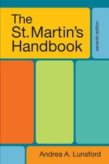 The St. Martin's Handbook 7th Edition 9780312602932 0312602936