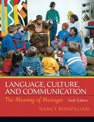 Language, Culture and Communication 6th edition 9780205832095 0205832091