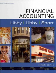 Financial Accounting with Connect Plus 7th edition 9780077480011 0077480015