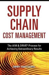 The Supply Chain Cost Management 1st Edition 9780814417423 0814417426