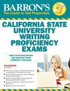 Barron's California State University Writing Proficiency Exams 4th edition 9780764145742 0764145746