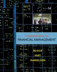 Foundations of Financial Management with Time Value of Money card 14th edition 9780077454432 007745443X