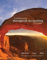 Fundamental Managerial Accounting Concepts with Connect Plus 6th edition 9780077477592 0077477596