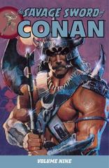 Savage Sword of Conan Volume 9 0 9781595826480 1595826483