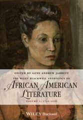 The Wiley Blackwell Anthology of African American Literature 1st Edition 9780470657997 0470657995