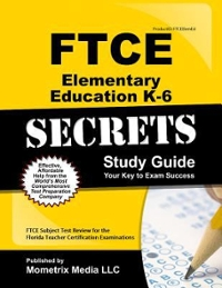 FTCE Elementary Ed K-6 Secrets 1st Edition 9781609717179 1609717171