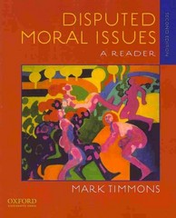 Disputed Moral Issues 2nd Edition 9780195388725 0195388720