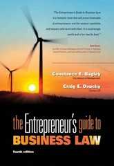 The Entrepreneur's Guide to Business Law 4th Edition 9780538466462 0538466464