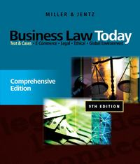 Business Law Today: Comprehensive 9th edition 9780538452809 0538452803