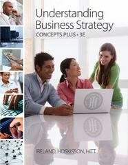 Understanding Business Strategy Concepts Plus 3rd edition 9781285224992 128522499X