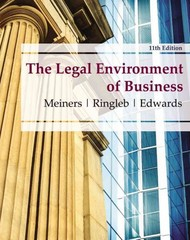 The Legal Environment of Business 11th edition 9780538473996 0538473991
