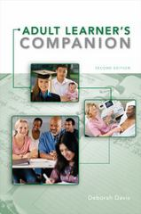 The Adult Learner's Companion 2nd Edition 9780495913832 0495913839