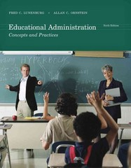 Educational Administration 6th edition 9781111301248 1111301247