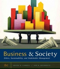Business and Society 8th edition 9780538453165 0538453168