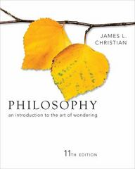 Philosophy 11th edition 9781133421450 1133421458