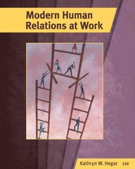 Modern Human Relations at Work 11th edition 9780538481069 0538481064