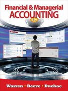 Financial & Managerial Accounting 11th edition 9781111527129 1111527121