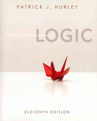 A Concise Introduction to Logic (Book Only) 11th edition 9780840034168 0840034164