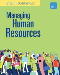 Managing Human Resources 16th Edition 9781111532826 1111532826