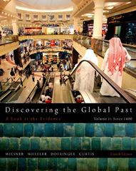 Discovering the Global Past, Volume II 4th edition 9781111341435 1111341435