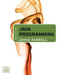 Java Programming 6th edition 9781133387510 1133387519