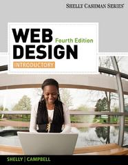 Web Design 4th Edition 9780538482400 0538482400