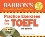 Barron's Practice Exercises for the TOEFL 7th edition 9781438070322 1438070322