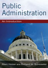 Public Administration 1st edition 9780765629289 0765629283