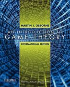 An Introduction to Game Theory 0 9780195322484 0195322487